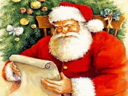Santa's reading job - b4 planning n producing 4 delivery